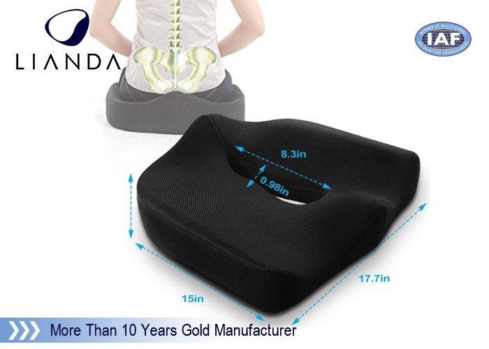 Coccyx Orthopedic Comfort Foam Seat Cushion for Lower Back, Tailbone and Sciatica Pain Relief