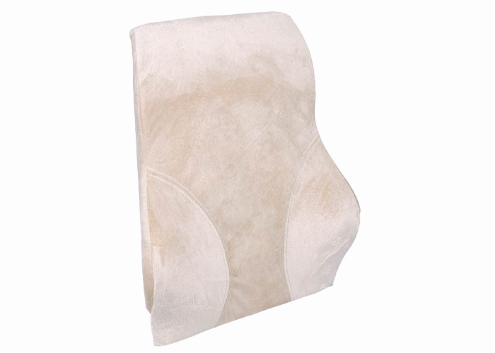 Comfortable Lumbar Support Memory Foam Back Cushion with Micro Birdeye Fabric
